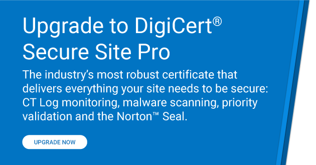 Upgrade to Secure Site Pro