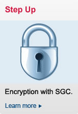 Step Up Encryption with SGC