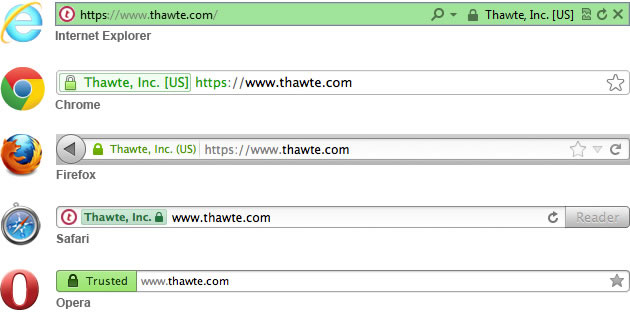 Web Server SSL Certificates with EV (Extended Validation) | Thawte®