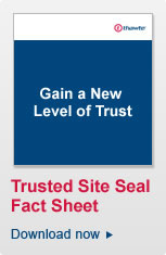 Download the Thawte Trusted Site Seal Fact Sheet